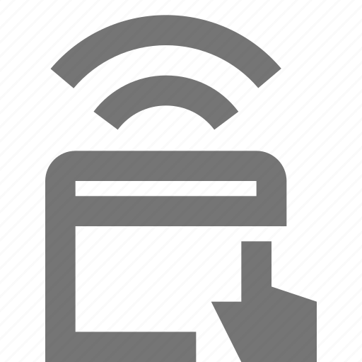 touchpad, wireless icon