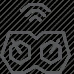 arcade, controller, device, game, signal, smart, wifi, wireless icon