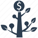 earnings, finance, income, investment, profit icon
