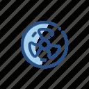fan, home, smart, turbine, ventilator icon
