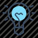 control, home, intelligent, light bulb, lighting, smart, smart light icon
