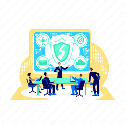 cybersecurity, confidential, data, protection, firewall