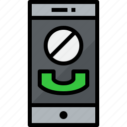 call, cellphone, communication, device, phone, smartphone, talk icon