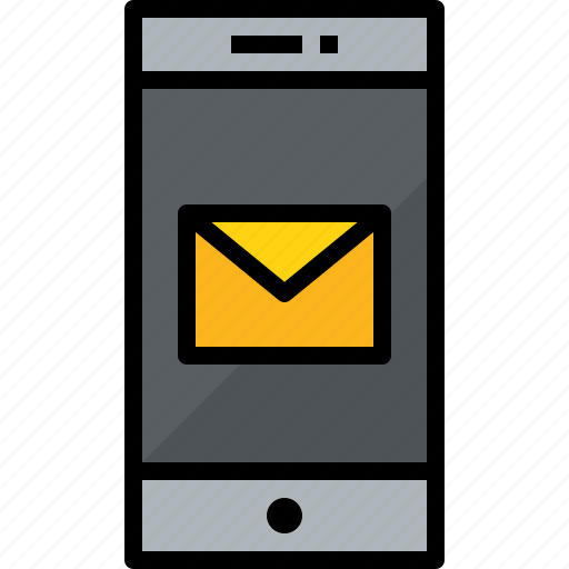 cellphone, communication, device, mail, phone, smartphone, talk icon
