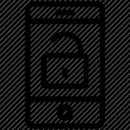 cell phone, device, mobile, mobile unlock, smart phone, unlock, unlocked icon