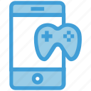 cell phone, device, entertainment, game, game pad, mobile, smart phone icon