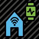 smart, home, house, internet