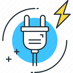 consumption, electric, electrical, electricity, energy, level, power icon