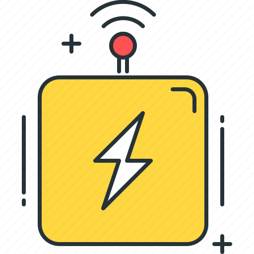 control, electric, electricity, energy, intelligent, power, settings icon
