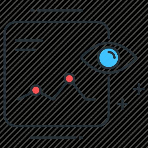 analysis, chart, data, forecast, predict, prediction, trend icon