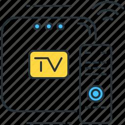 box, drama, movie, series, show, smart, tv icon