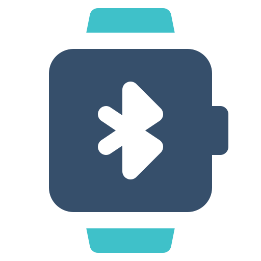 bluetooth, smart, watch icon