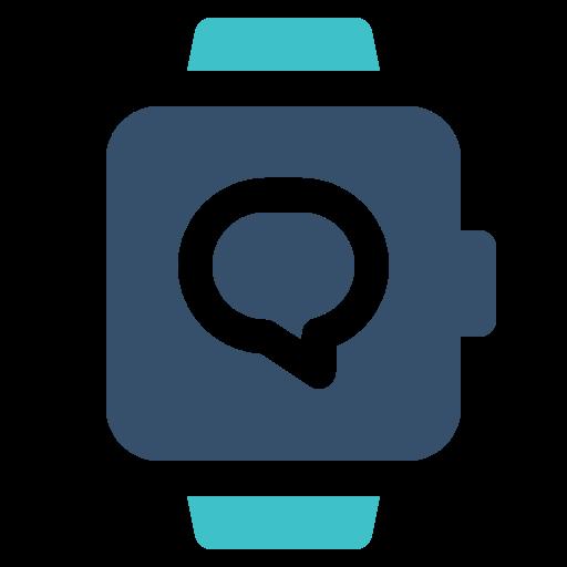 conversation, smart, watch icon