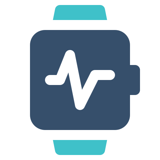 Smart, health, watch icon