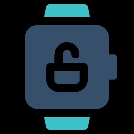 smart, unlock, watch icon