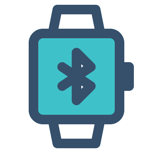 bluetooth, smart, smart watch, watch icon