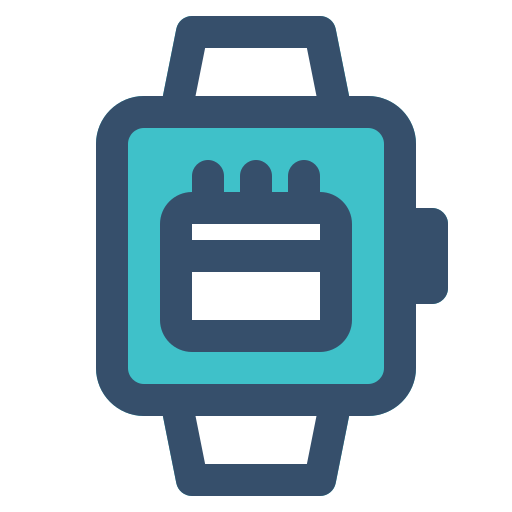 calendar, smart, smart watch, watch icon