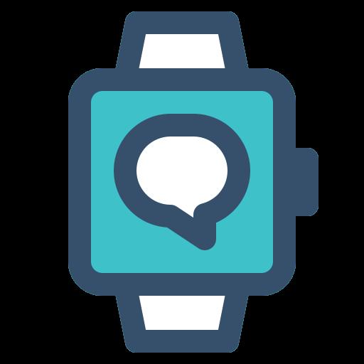 conversation, smart, smart watch, watch icon