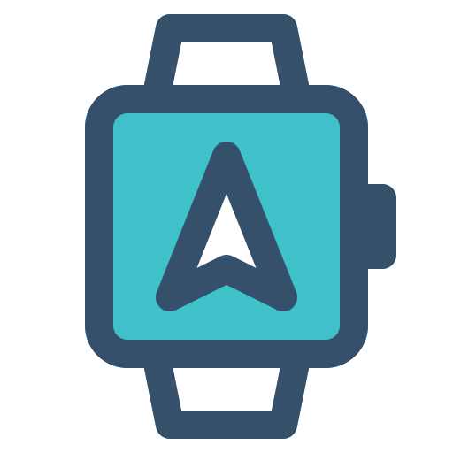 navigation, smart, smart watch, watch icon