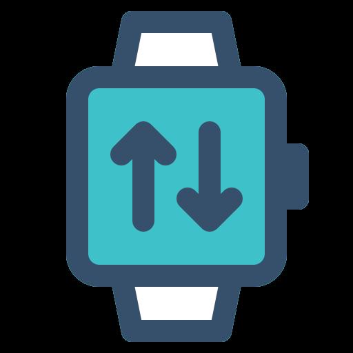 smart, smart watch, transfer, watch icon