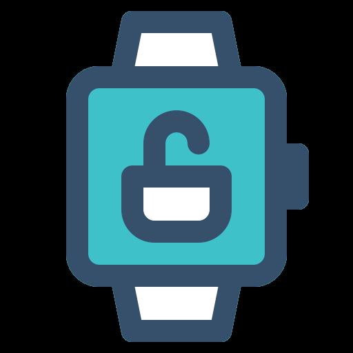 smart, smart watch, unlock, watch icon