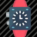 analogue, clock, digital, face, time, watch