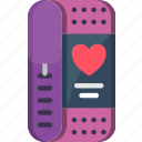 health tracker, heart, heart beat, monitor, rate icon