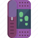 active, counter, fitness app, health, step, step counter, tracker icon