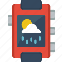 app, cloudy, notification, rainy, sunny, weather