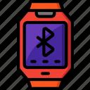 bluetooth, music, send, share, upload icon