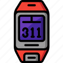 app, cycling, distance, distance tracker, fitness, navigation, tracker icon