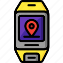gps, location, maps, navigation, satellite navigation icon