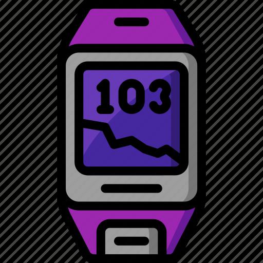 health tracker, heart, heart beat, monitor, rate icon
