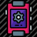 brightness, edit, personlise, ringtone, settings icon