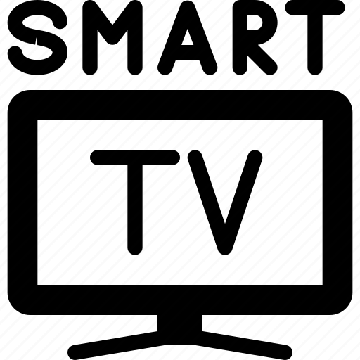 device, screen, smart, television, tv icon
