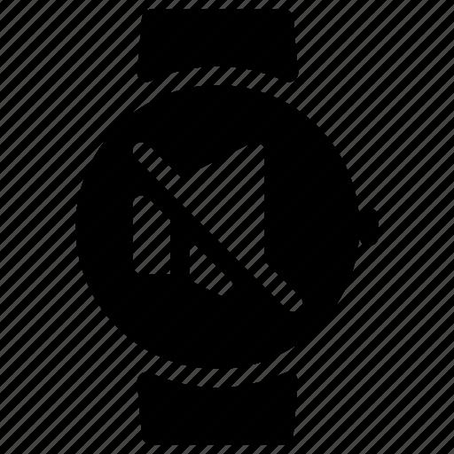 music, mute, smartwatch, sound, speaker icon