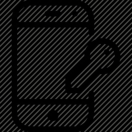 device, lock, mobile, phone, smartphone icon