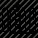 gate, open, smarthome icon