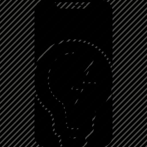 iphone, potency, power, strength, vigor icon