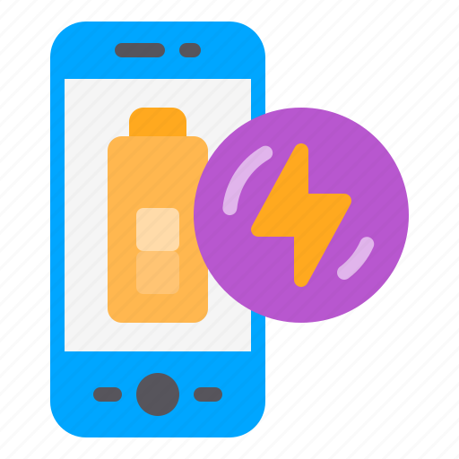 battery, charging, phone, power, smartphone icon