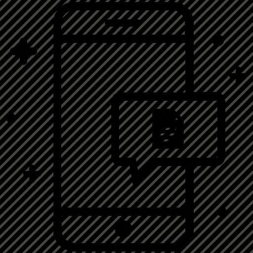 Attachment, files, message, pdf, send, smartphone icon - Download on Iconfinder
