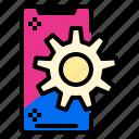 application, phone, setting, smart icon