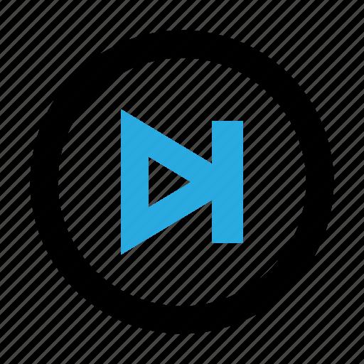 audio, control, media, music, next, player, video icon