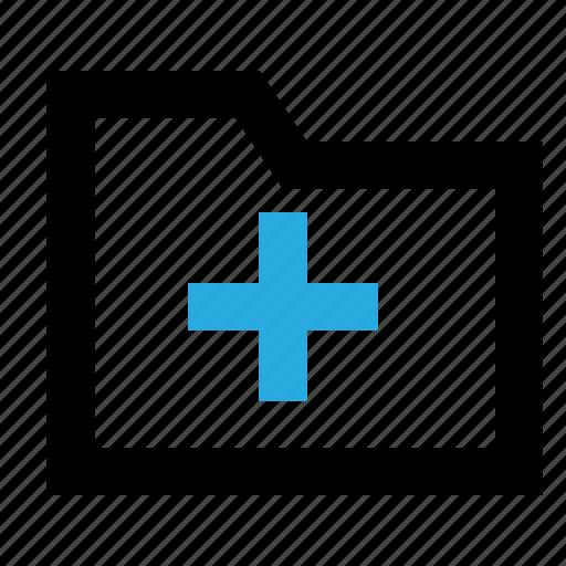 add, archive, create, document, file, files, folder icon