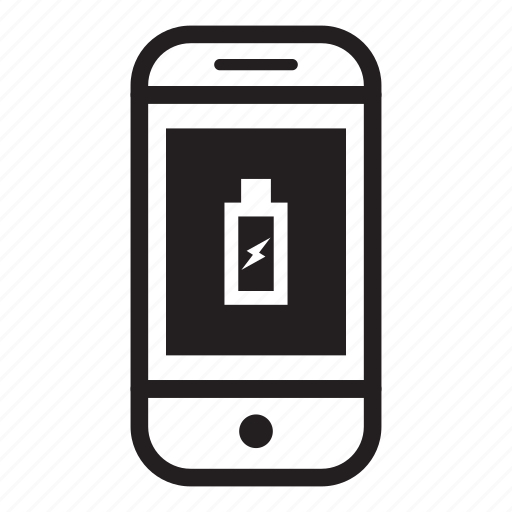 battery, charging, device, mobile, phone, smartphone icon