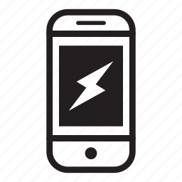 charging, device, mobile, phone, power, smartphone icon
