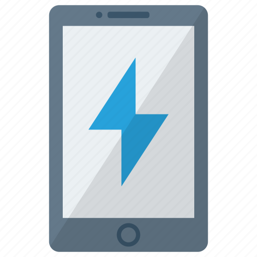 cell, charging, device, mobile, phone, smart, smartphone icon