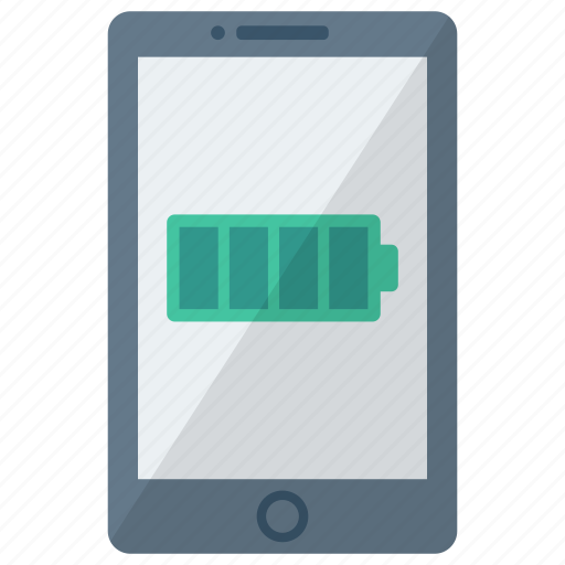 cell, device, full battery, mobile, phone, smart, smartphone icon