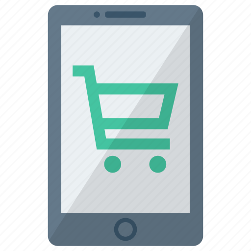 cart, cell, device, mobile, phone, smart, smartphone icon