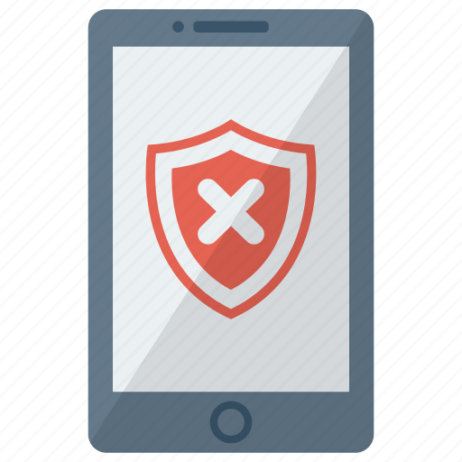 cell, device, mobile, phone, security lock, smart, smartphone icon